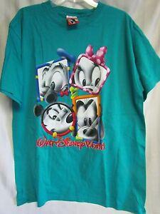 Vintage Walt Disney World Theme Park Large T Shirt New