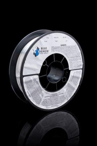 """ER5356 X .047 X 3 lb 8/"""" Spool MIG Blue Demon aluminum welding wire"""