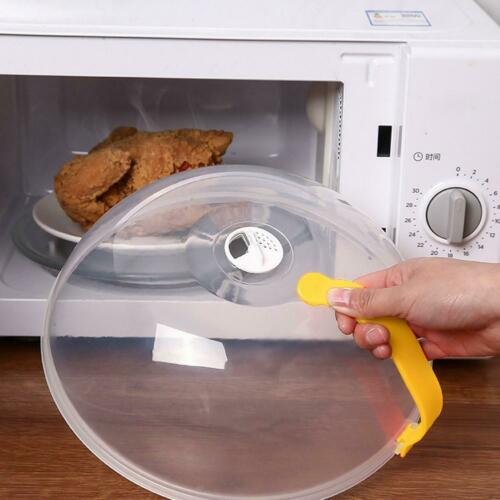 Microwave Splatter Cover Anti-Splatter Microwave Guard Lid with Steam Vent NEW