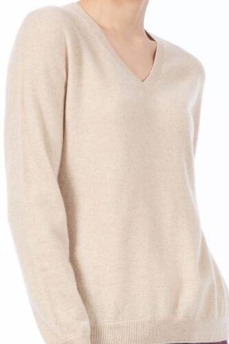 Sweater V Kvinder neck Mongolsk 100 Cashmere XqURUaAxw