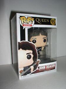 Queen Funko POP Rocks John Deacon Vinyl Figure #95