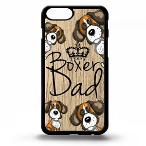 Boxer dog Dad cute boxers quote phrase cartoon puppy graphic phone case cover - worksop, Nottinghamshire, United Kingdom - Boxer dog Dad cute boxers quote phrase cartoon puppy graphic phone case cover - worksop, Nottinghamshire, United Kingdom