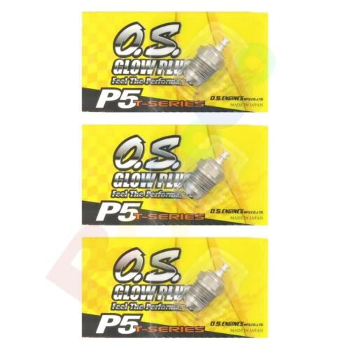 3PCS OS GLOW PLUG P5 TURBO VERY HOT OFF-ROAD # OS71641500 O.S Engines Parts