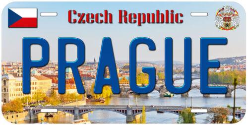 Prague Czech Republic Novelty Car Auto License Plate