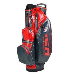 2020-Sun-Mountain-Golf-H2NO-Lite-Cart-Bag-Gunmetal-Red