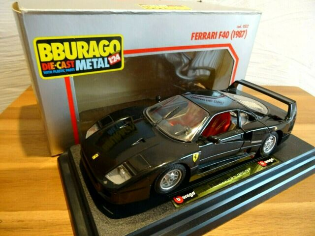 Bburago 0532 Die Cast Metall Ferrari F40 1987 Rot 1 24 Neu Ovp Günstig Kaufen Ebay