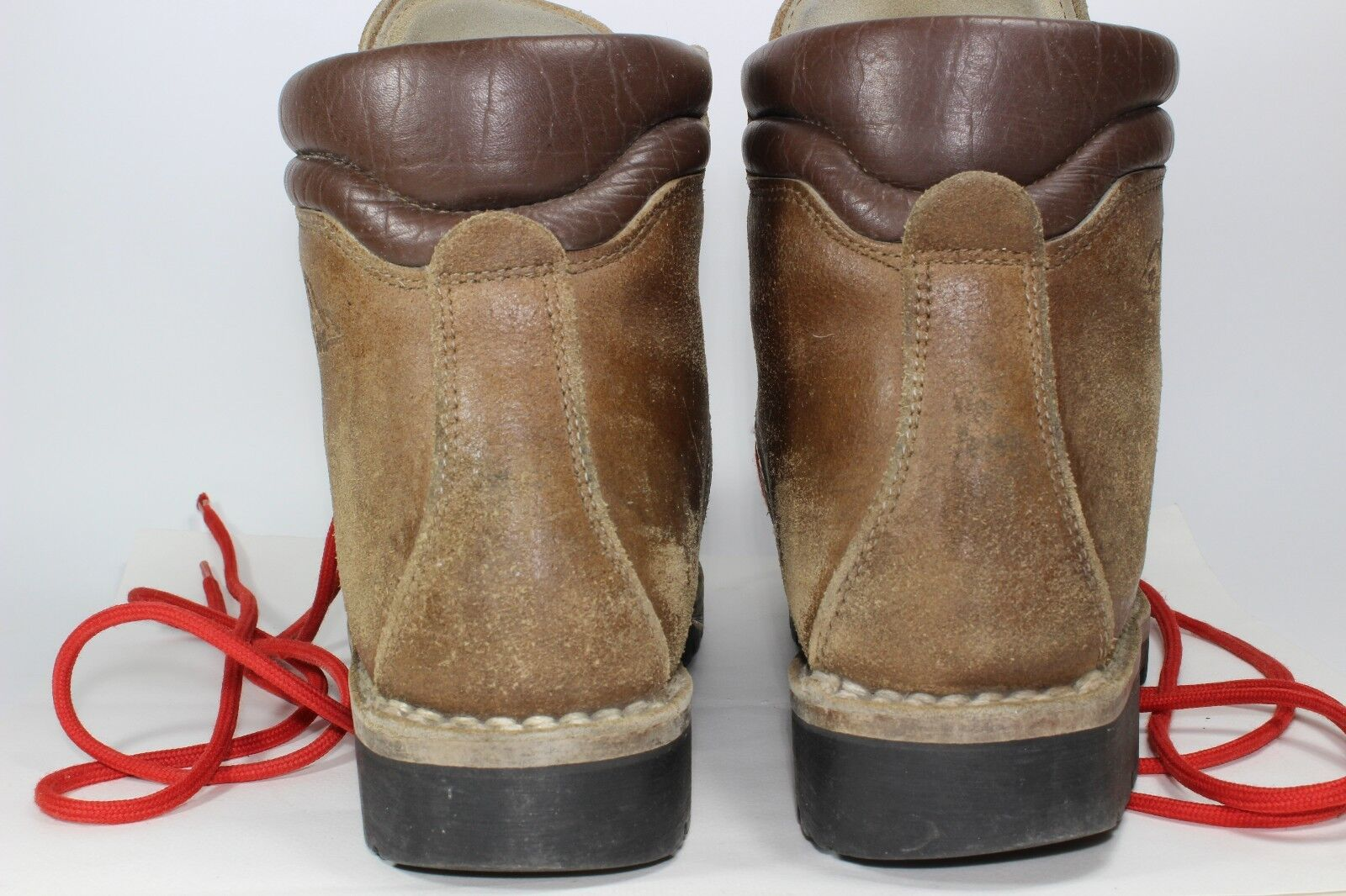 19663d30d78c ... Alpin Hiking Hiking Hiking Mountaineering Leather Boots Vintage Rare  Red Line Euro size 38 463920 ...