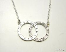 5360f178a Authentic PANDORA Circles Necklace Clear CZ Chain Length 45cm 396235cz-45  G610
