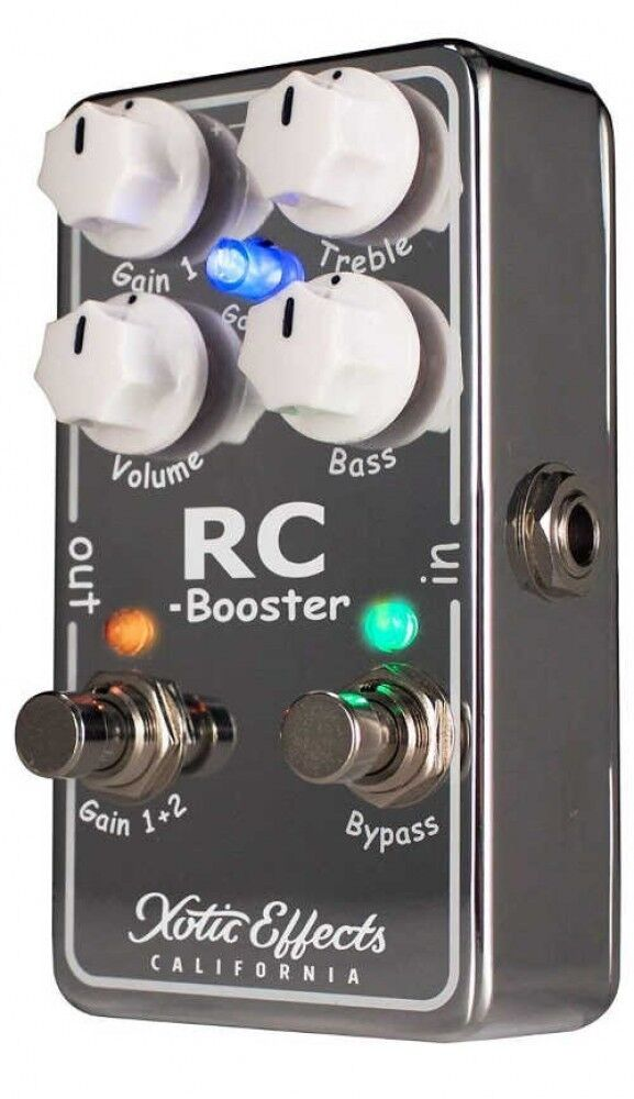 Xotic Rcb-V2 Effektpedal Over Drive Rc Booster V2 From Japan