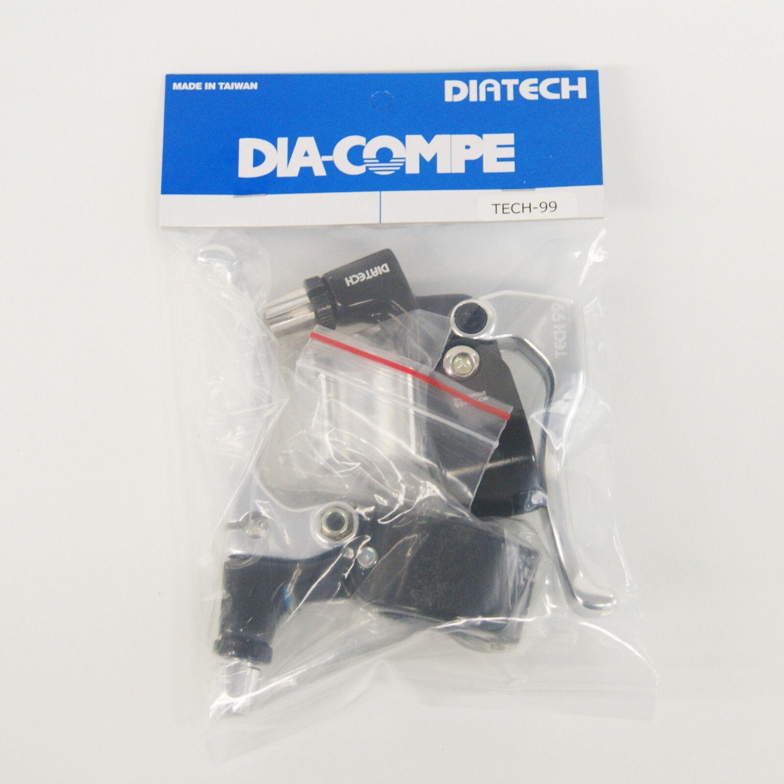 Dia-Compe Tech99 Leva Freno Destro e Sinistro (Paio) silver