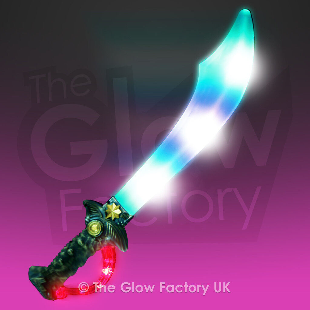 Wholesale Light Up Pirate Sword Cutlass Flashing LED