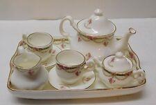 Miniature Teapot Sugar Creamer Fine Bone China Raesuevic Ceramics 10 pcs England