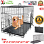 Extra-Large-Dog-Crate-Kennel-48-034-42-034-36-034-30-034-24-034-Folding-Pet-Cage-Metal-US-SHIP thumbnail 1