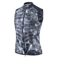 100% Auth Nike Aeroloft 800 Women's Running Vest  Small Blue Camo  Price $180.-