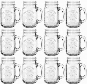 Image Is Loading Bridal Wedding Set Lot 12 Mason Jar Drinking