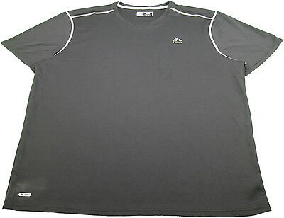 NEW Mens RBX Black Gray S//S Performance Active Shirt Size Medium M $48