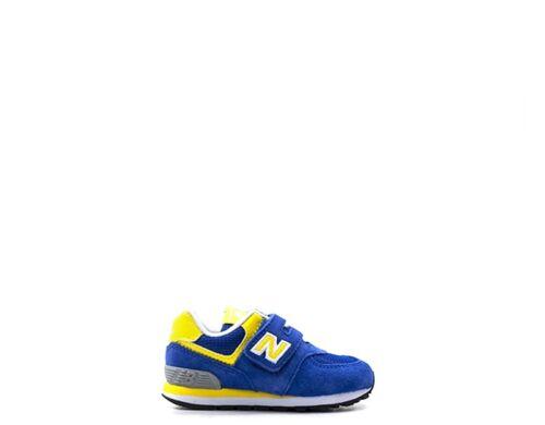 Scarpe NEW BALANCE Bambini Sneakers  BLU//GIALLO  IV574BY