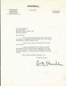 Happy-Chandler-Signed-1947-Baseball-Commissioner-Letter-PSA-DNA-COA-Hall-of-Fame
