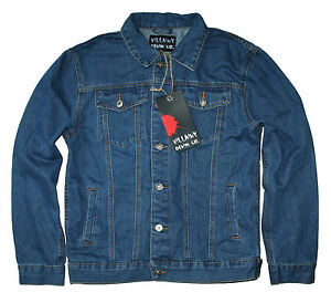 Details about VILLAINY DENIM CO Men s Denim Jacket NEW   IN STOCK NOW Size  S-XXL d834622e69