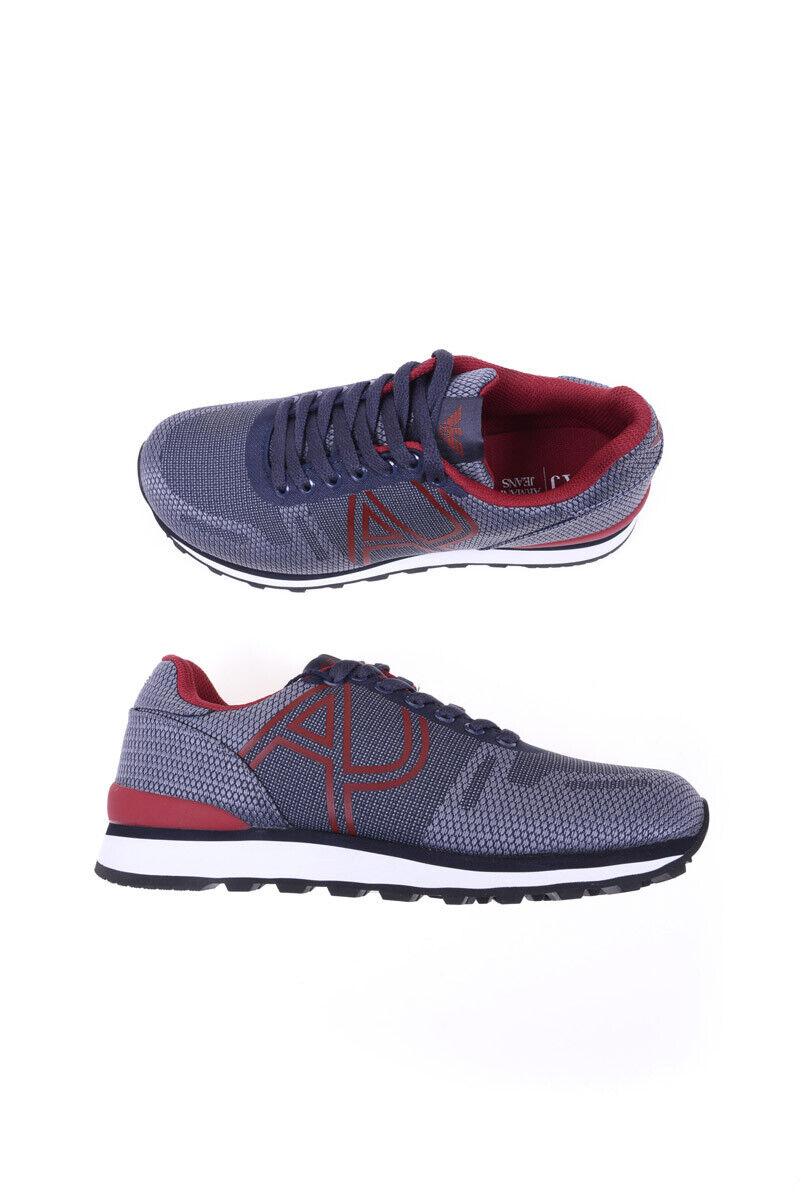 Armani Jeans shoes Man bluees C650511 5G Sz.43 MAKE OFFER
