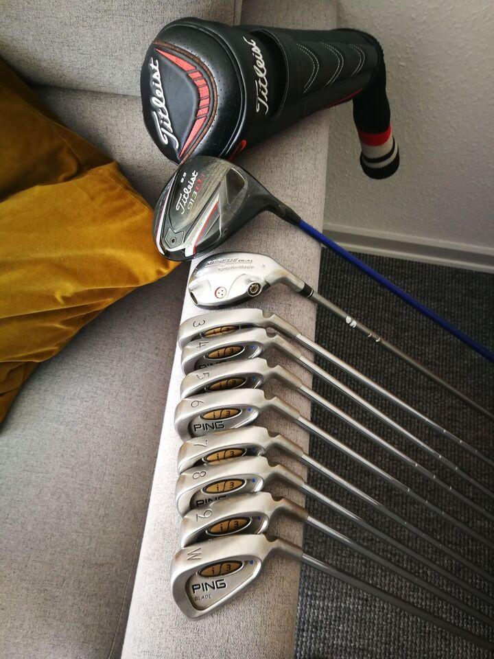 Herre golfsæt, stål, Komplet golfsæt