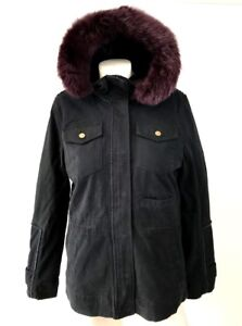 1195ad2ed7c Details about Ugg Women's Jodie Convertible Field Parka Winter Jacket Black  Multi Sizes