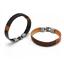 Surfer-Men-039-s-Unisex-Hemp-Wrap-Leather-Wristband-Bracelet-Cuff-Black-Brown-Bangle thumbnail 5