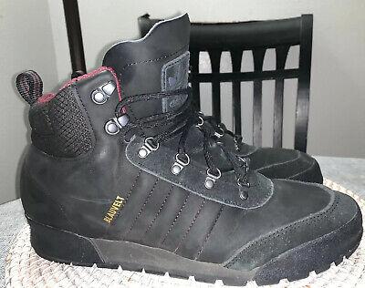 ADIDAS Jake Boot 2.0 Black Blauvelt Boots Shoes Snowboarding US Men's Sz 11