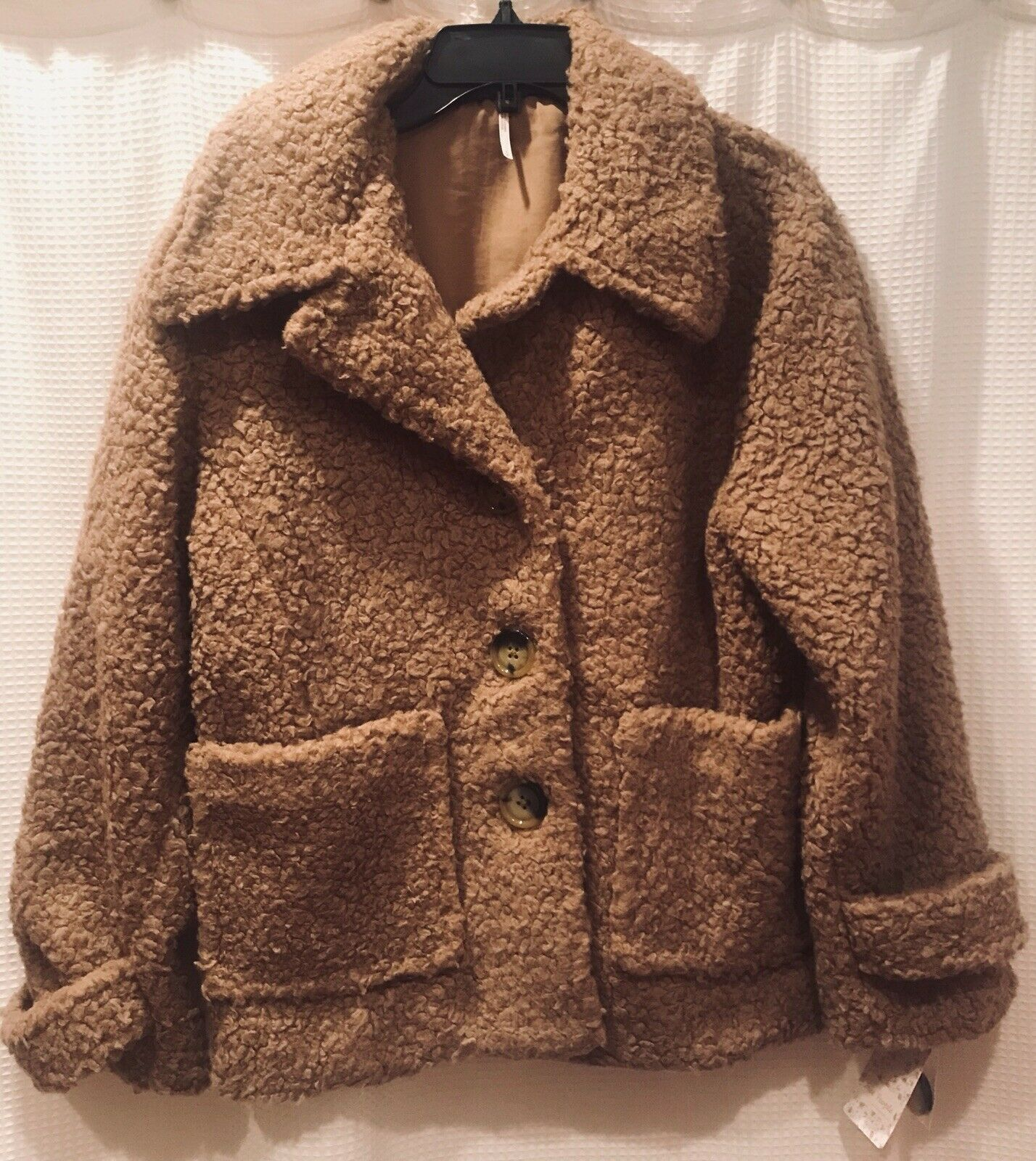 Free People Soft & Cozy Peacoat   Size S; NWT   Retail