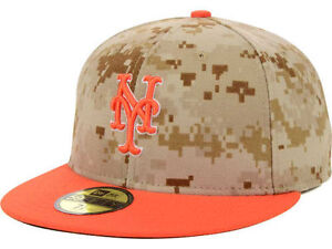 dc12b7402d6 Official 2014 MLB New York Mets Memorial Day New Era 59FIFTY Fitted ...