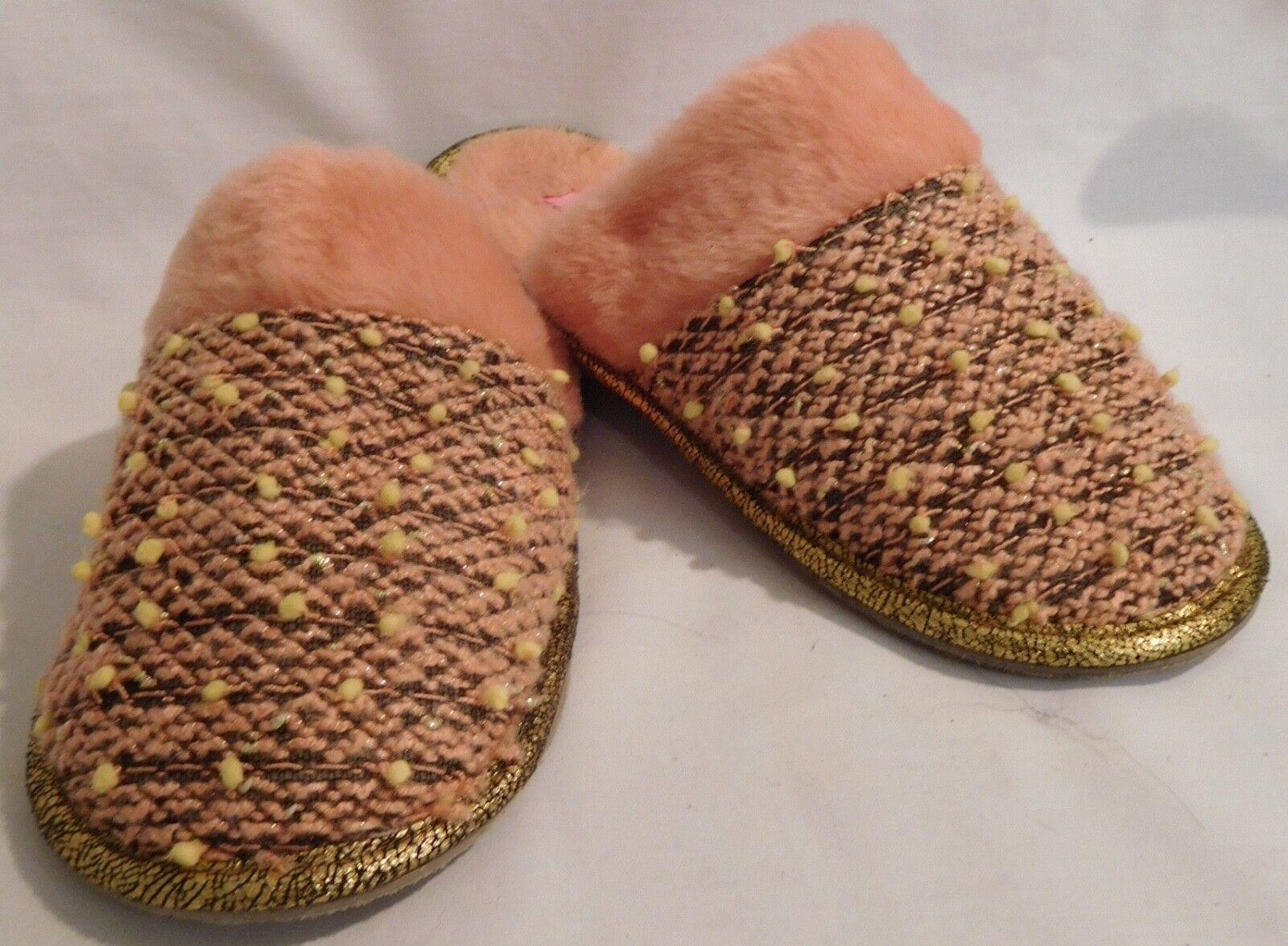 f1cd1b69d298 ISAAC MIZRAHI WOMENS PINK SLIPPERS WOMENS SIZE 10 TO 11 EUC XL MULE  ofywjo2114-Women s Slippers