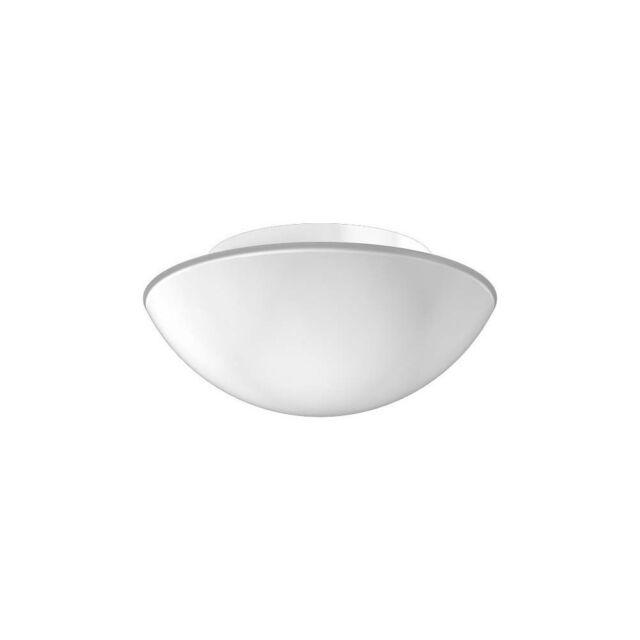 RZB Decken- und Wandleuchte Flat Basic 1x E27 60W D 250 H 106 Glas opal matt