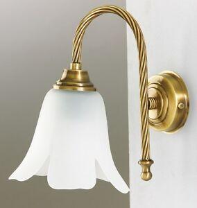 Applique da parete per bagno in ottone fuso stile classico ab 624 ebay - Applique per bagno classico ...