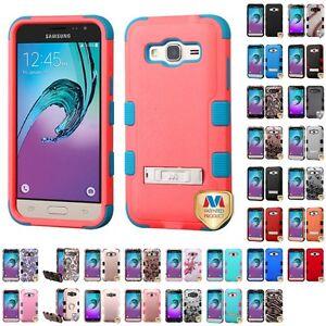 For-Samsung-Galaxy-J3-J320-2016-Hybrid-TUFF-IMPACT-Phone-Case-Hard-Rugged-Cover