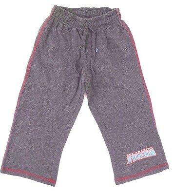 Marvel The Amazing Spider-Man Boy/'s Dark Grey Sweatpants Sizes 6 8 10 NEW
