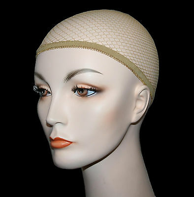 Net Wig Cap Liner nylon standard costume glamour theatrical nude makeup hair