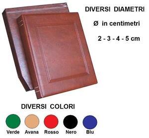 Raccoglitore-NEUTRO-Custodia-4-Misure-5-Colori-Album-Monete-Banconote-ecc