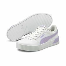 Zapatillas De Mujer Puma Carina De Cuero Mujer Zapato Basics
