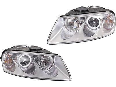 Volkswagen Touareg 04 - 07 Halogen Head Light Lamp Pair