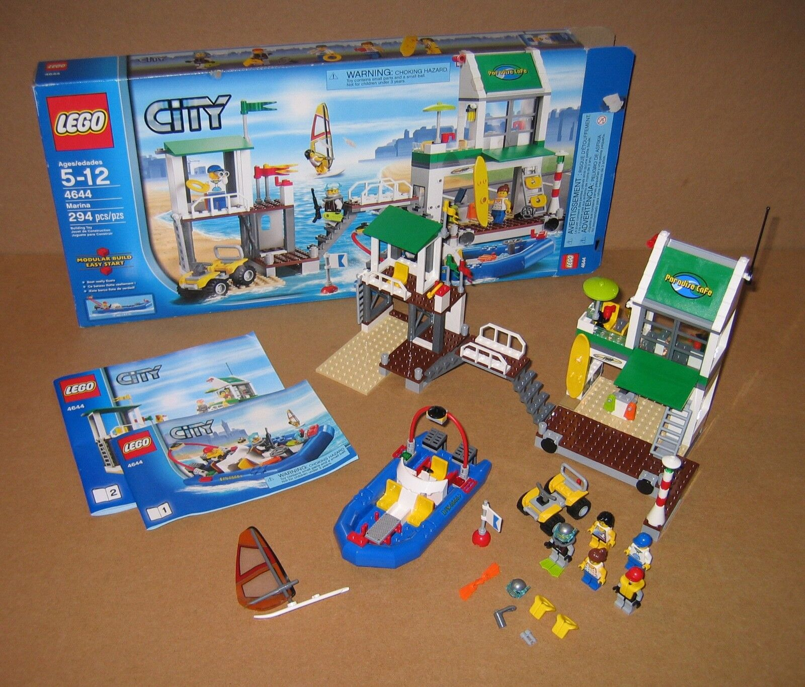 4644 LEGO Marina – 100% Complete w box & Instructions EX COND 2011