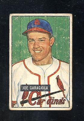 1951 BOWMAN #122 JOE GARAGIOLA VG rookie