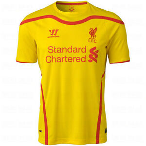 timeless design 600d0 5404b Warrior Liverpool FC Season 2014-2015 Away Soccer Jersey ...