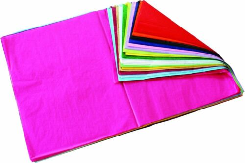 BI7830 Assorted Colour Tissue Paper 520x760mm Pack of 480