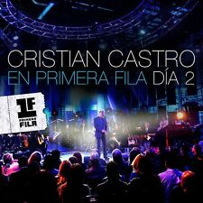 CD + DVD En Primera Fila Dia 2 - Castro Cristian Sealed New !