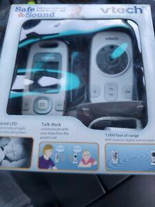 VTech VM312 Full Color Safe & Sound Night Vision Video Baby Monitor 1000ft Range