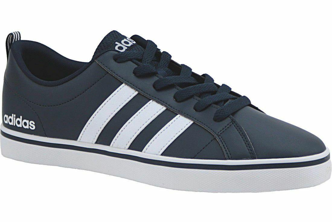 shoes Adidas B74493 VS Pace blue Moda men Sneakers Basse Pelle