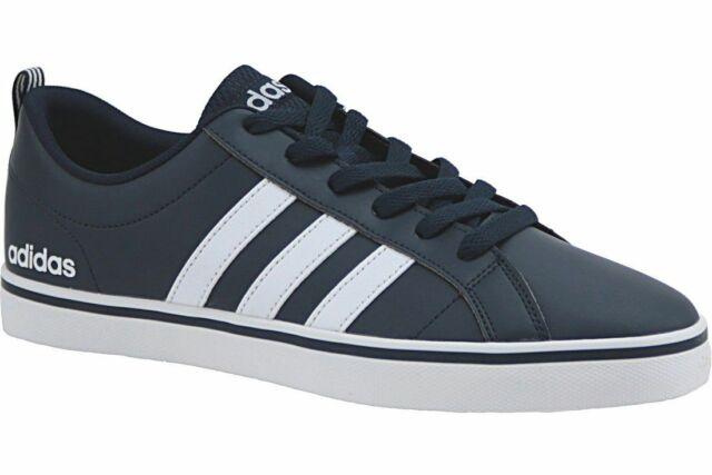 Scarpe Adidas B74493 VS Pace Blu Moda Uomo Sneakers Basse Pelle