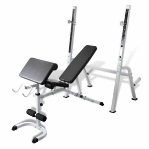 vidaXL-Adjustable-Fitness-Workout-Bench-Trainer-Home-Gym-Body-Arm-Back-Exercise