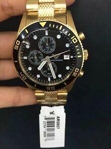 EMPORIO-ARMANI-watch-AR5857-Herren-Uhr-Chronograph-new-Quartz-CHRONO-WATCH