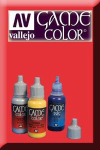 Game Color Red Ink 72086 Inchiostro Vallejo Amener Plus De Commodité Aux Gens Dans Leur Vie Quotidienne